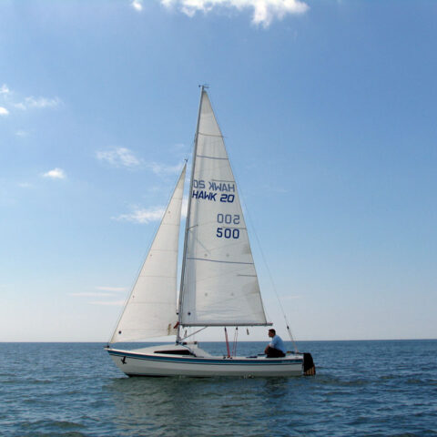 hawk 20 sailing image-107