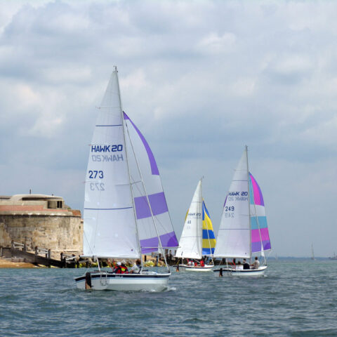 hawk 20 sailing image-110